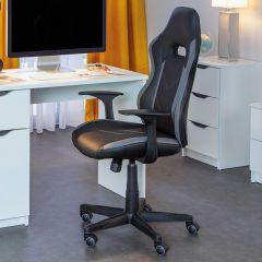 Bureaustoel My Homi - zwart/grijs