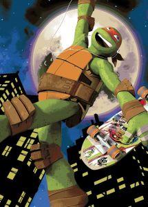 Tapijt Turtles - Mike Skate
