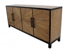 Dressoir Sunburst - naturel / worn black