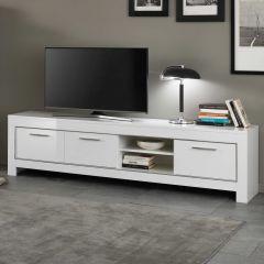 Tv-meubel Modena 207 cm - wit