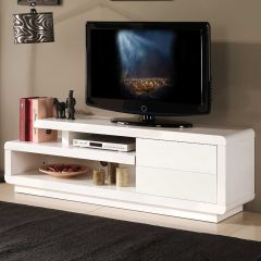 Tv-meubel Bungee 142cm - wit