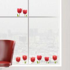 Raamstickers Tulpen