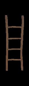 Decoratieve ladder Pank - antiek