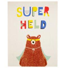 Tapijt Superhero Bear