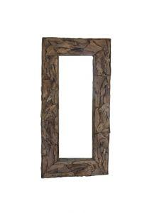 Wandspiegel Root - 180x90 cm - teak wortelhout