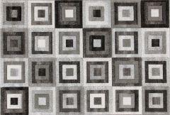 Vloerkleed Gioia A Bw 230x160 - grijs