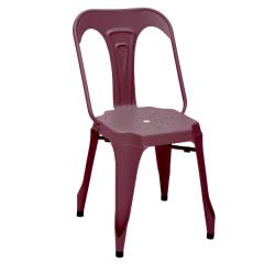Set van 2 stoelen Industry - rood