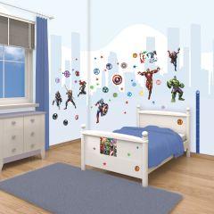 Walltastic 66 muurstickers Avengers