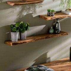 Wandplank Macy 120 cm - acacia