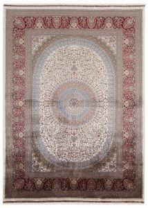 Vloerkleed Qoum Shah 5 Cream 180x120