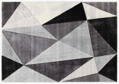 Vloerkleed Angles 230x160 - grijs