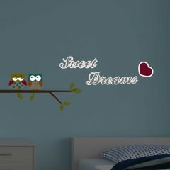 Muursticker Sweet Dreams Glow in the dark