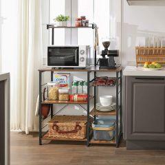 Keukenrek Arlene - bruin/zwart
