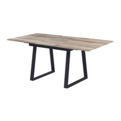 Uitschuifbare tafel Austria 140/180x90 industrieel - oude eik