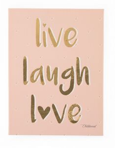 Canvas Live Laugh Love 30x40