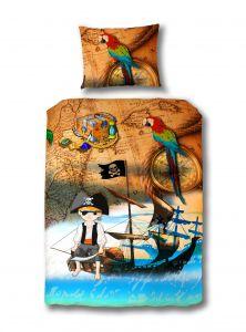 Dekbedovertrek Piraat