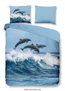 Dekbedovertrek Dolphins 140x220