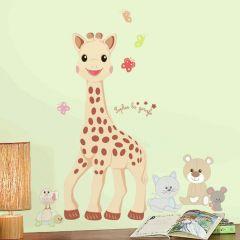RoomMates muurstickers - Sophie de Giraf groot