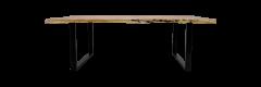 Eettafel SoHo - 280x100 cm - acacia / ijzer