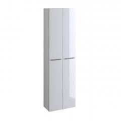 Kolomkast Small 50cm 2 deuren - hoogglans wit