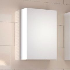 Hangkast Brama/Kornel/Pisca 40cm 1 deur - wit
