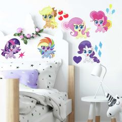 Muurstickers My Little Pony - Let's Get Magical