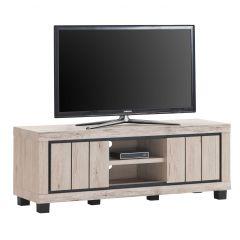 Tv-meubel Elke 145cm met 2 deuren - eik