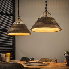 Hanglamp Nola 2xØ40cm