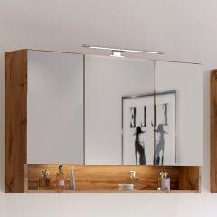 Spiegelkast Sefa 100cm 3 deuren - wotan eik