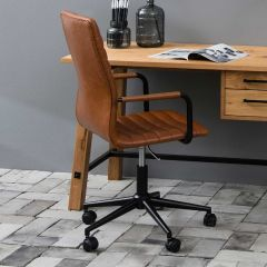 Bureaustoel Windsor - bruin