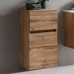 Badkamerkastje Kornel 40cm 1 deur & 1 lade - eik