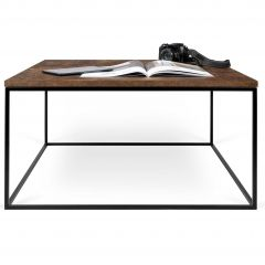 Salontafel Gleam 75x75 - roest/staal
