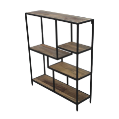 Decoratierek Levels - mangohout/ijzer