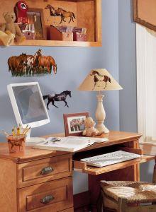 RoomMates muurstickers - Wilde paarden