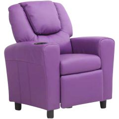 Relaxfauteuil voor kinderen Rex - paars