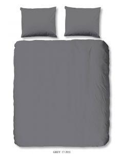 Dekbedovertrek Uni Grey 200x220cm