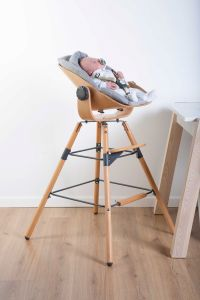 Babyzitje Newborn voor Evolu 2 en Evolu ONE.80° - naturel/antraciet