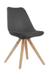 Set van 2 stoelen Lady - zwart