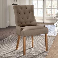Set van 2 stoelen Anny - taupe