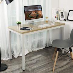 Bureautafel Joris 120cm - hout/wit