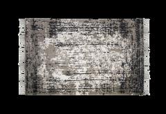 Vloerkleed - katoen - 180x120 cm - navy / beige