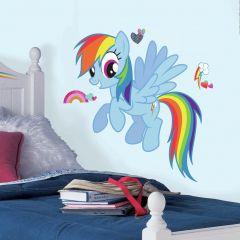 XL muursticker My Little Pony Rainbow Dash