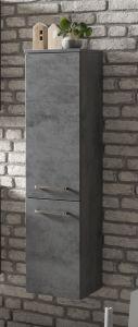 Kolomkast Stivan 30cm 2 deuren - beton