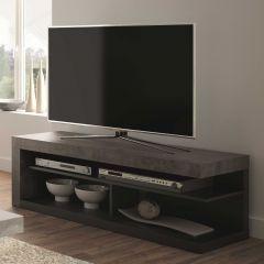 Tv-meubel Delta 130cm - beton/zwart