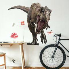XL muursticker Jurassic World Fallen Kingdom T-Rex