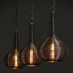 Hanglamp Willem - antiek nikkel