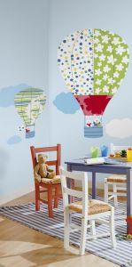 RoomMates muurstickers - Luchtballonnen