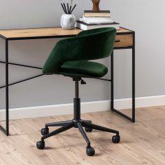 Bureaustoel Dusty - bosgroen/zwart