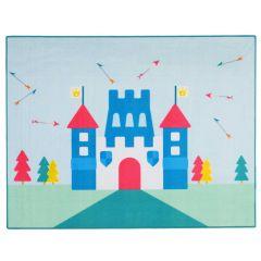 Tapijt Little Prince Castle