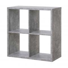 Opbergkast Max 4 vakken - beton